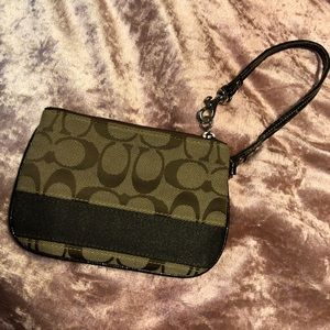 Coach wallet brown